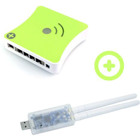 Pack Box domotique Z-Wave plus eedomus avec RFPlayer 868Mhz et 433Mhz