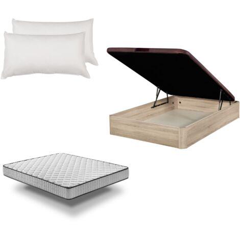 "main image of ""Pack: Canapé Abatible madera + colchón Pronature + almohada"""