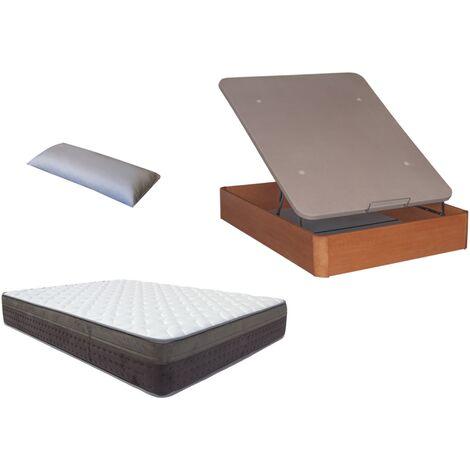 Pack Canape Madera 30mm+colchon MARMOTA VISCO+ almohada DE REGALO 150X200
