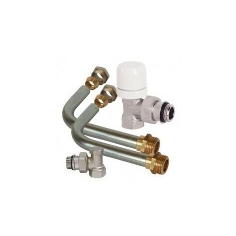 Pack cannes de radiateur thermostatisable a visser per 12 dim. 12/17