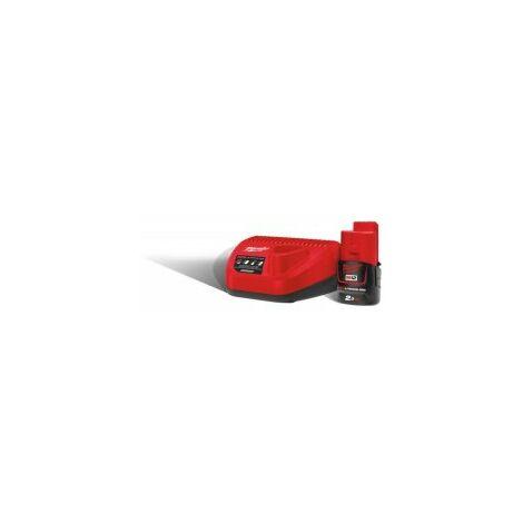Pack cargador + batería Milwaukee M12 NRG-201