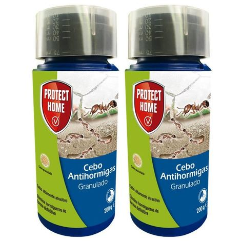 Pack Cebo Anti Hormigas Granulado PROTECT HOME 2 x 200 gr (antes BAYER BAYTHION GR)