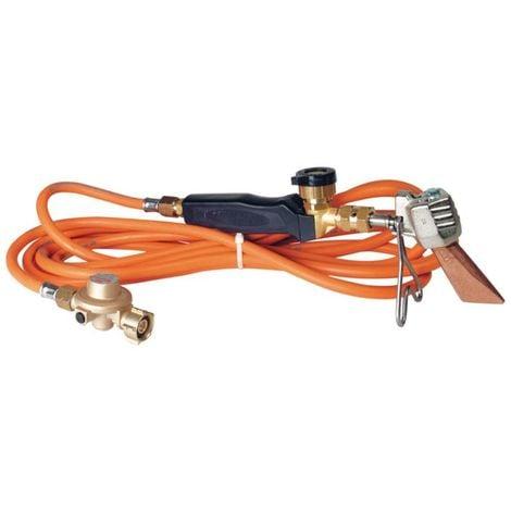 Pack chalumeau couvreur avec panne 35mm +manche + tuyau + détendeur