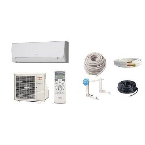 Pack climatisation ATLANTIC ASYG 12 LLCE 3.4 KW + Kit de pose 12 mètres + support + MISE EN SERVICE INCLUSE