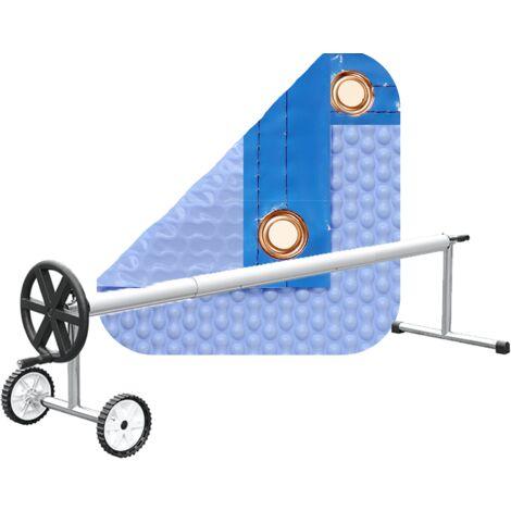 PACK COBERTOR TÉRMICO DE 500 MICRAS GEOBUBBLE COOLGUARD + ENROLLADOR TELESCÓPICO DE 81mm.