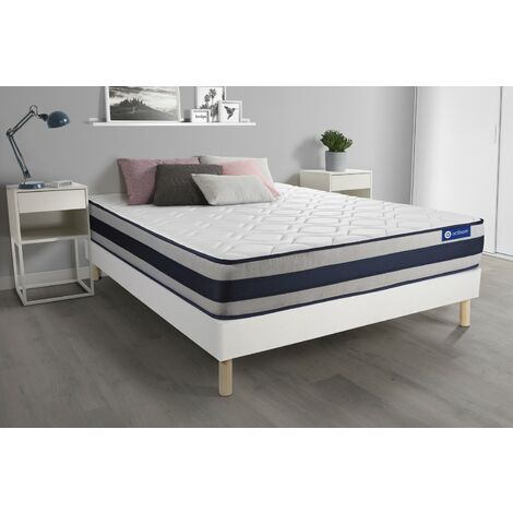Pack colchón Actimemo ergo 180x200cm + Somier multiláminas, espuma viscoelástica, 5 zonas de confort
