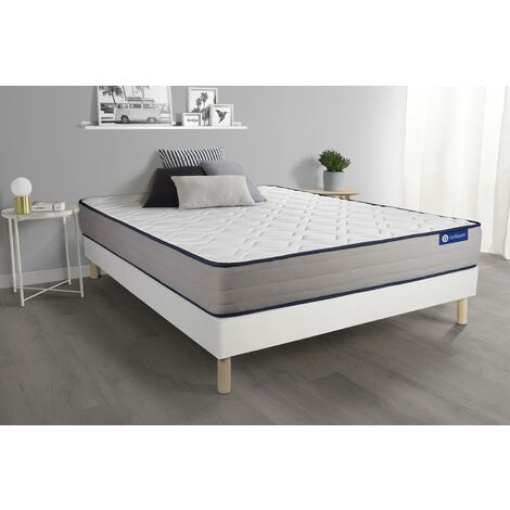 Pack colchón Actimemo form 180x200cm + Somier multiláminas, espuma viscoelástica, 5 zonas de confort
