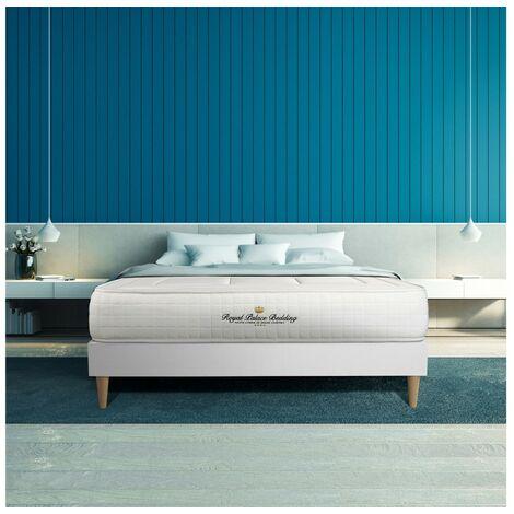 Pack colchón Balmoral 150x190cm + Somier multiláminas, espuma viscoelástica, 3 zonas de confort
