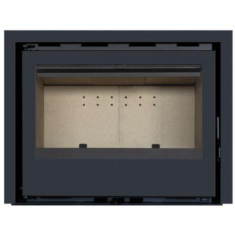 Pack Complet INSERT Classic modèle C-140 - 13kW - Ventilation et Cadre 4 côtés Acier