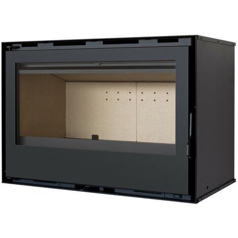 Pack Complet INSERT Classic modèle C-180 - 14kW - Ventilation et Cadre 4 côtés Acier