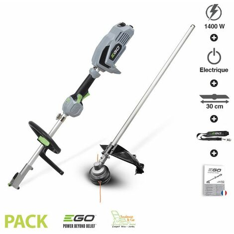 Pack coupe herbe et bordure sur batterie 56v avec chargeur Egopower PH1400E STA1500E