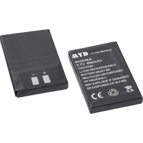 Pack d'accus pour Interphone classique m-e modern-electronics FS-2 S39835