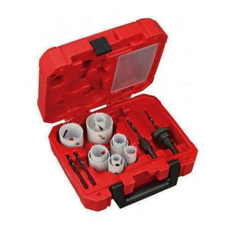 Pack de 10 scies cloche Hole Dozer Milwaukee 19 mm - 57 mm 49224152