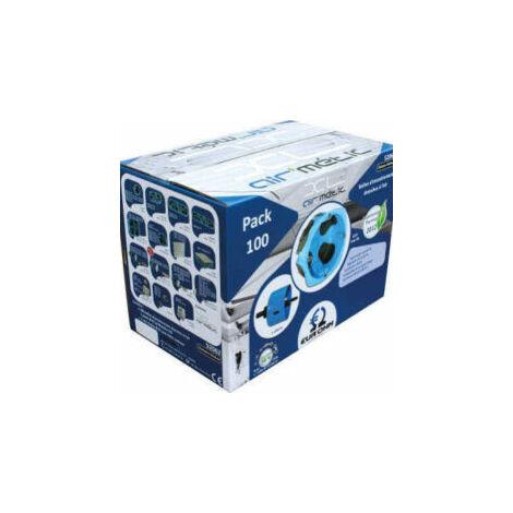 Pack de 100 boîtes d'encastrement étanches pour cloisons sèches + scie cloche offerte - 1 poste