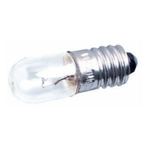 Pack de 100 uds Bombillas de filamento rosca E10 230 V 0'013 A Electro DH. 12.350/230/0.013