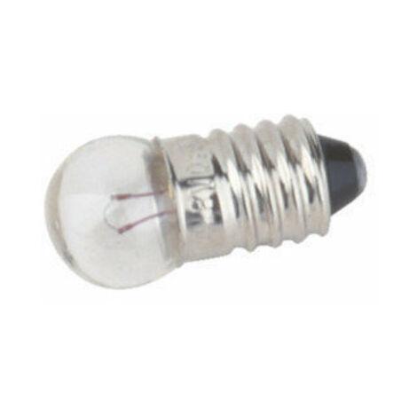 Pack de 100 uds Bombillas de filamento rosca E10 2.5 V 0.3 A Electro DH. 12.352/2.5/0.3 8430552021031