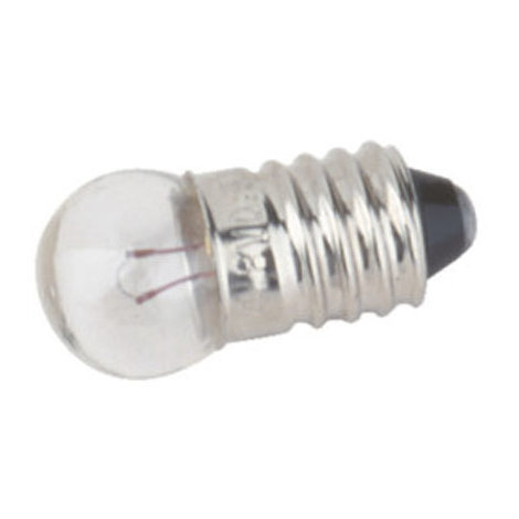 Pack de 100 uds Bombillas de filamento rosca E10 3.5 V 0.3 A Electro DH. 12.352/3.5/0.3 8430552088539