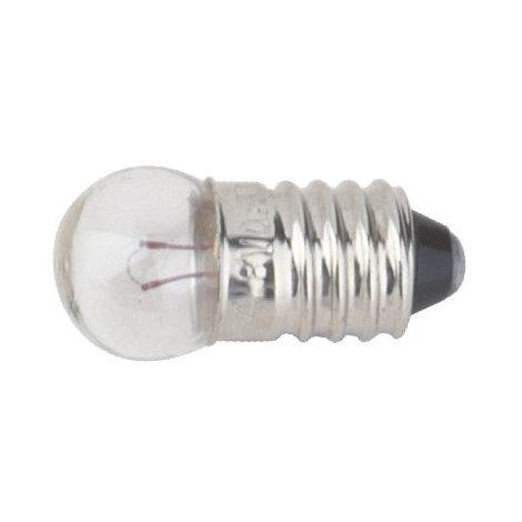 Pack de 100 uds Bombillas de filamento rosca E10 4.8 V 0.3 A Electro DH. 12.352/4.8/0.3 8430552066216