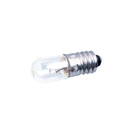 Pack de 100 uds Bombillas de filamento rosca E10 6 V 0'1 A Electro DH. 12.350/6/0.1 8430552020997