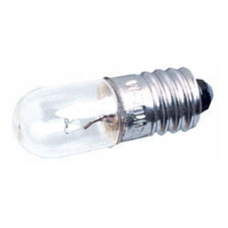 Pack de 100 uds Bombillas de filamento rosca E10 6 V 0.2 A Electro DH. 12.350/6/0.2 8430552021000