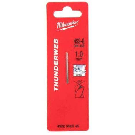Pack de 2 bits de perforación de metal HSS-G MILWAUKEE THUNDERWEB 1 X 34MM 4932352345