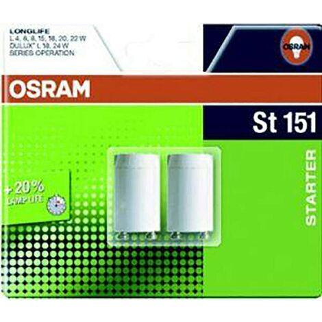 Pack de 2 Cebadores Conexion Simple 230V AC OSRAM