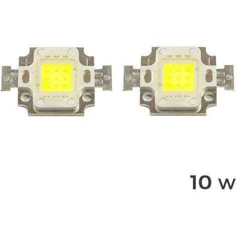 Pack de 2 Placa LED de sustitución para focos luz BLANCA FRÍA 6500k varios WATT
