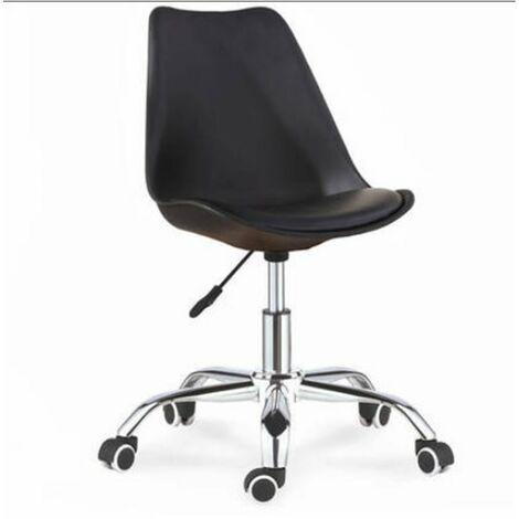 Pack de 2 sillas de oficina elevable modelo Dublin Color Negro