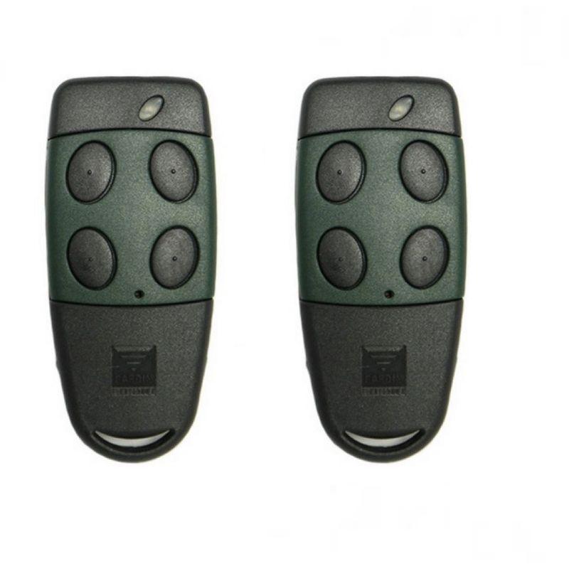 Cardin S449 QZ//4 mando a distancia con 4 botones 433 Mhz rolling code Juego TRQ449400 TXQ 449400 apricancello