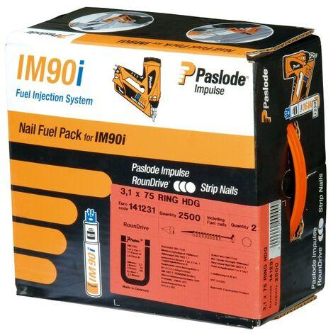 """main image of """"Pack de 2500 pointes crantées IM90I SPIT - 2.8 x 70 mm - 142016"""""""