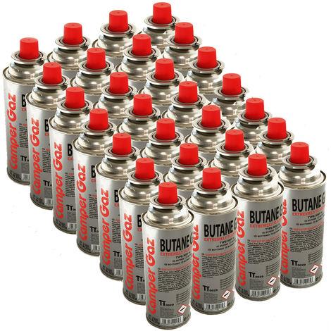 Pack de 28 cartouche gaz Camper Gaz 227gr butane - bouteille de gaz UN2037