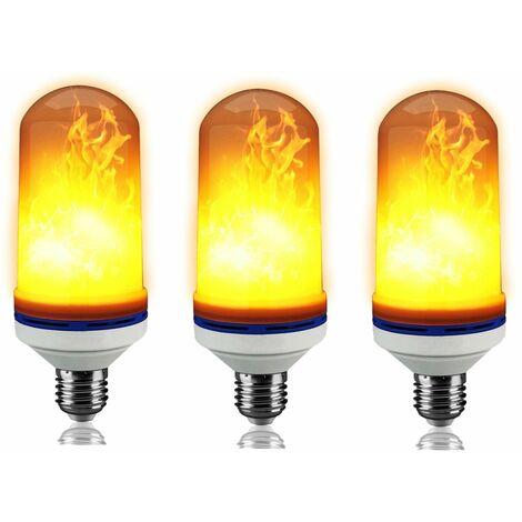 Led 946 3 Culot Pack Feu De Ampoules Ref Scintillement E27 Flamme Effet xsQdthCr