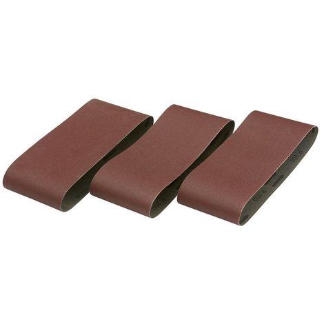Pack de 3 bandas de lija 100x560 grano 100 para DW650 - DW650E - MHB90 - DEWALT - Ref: DT3316-QZ