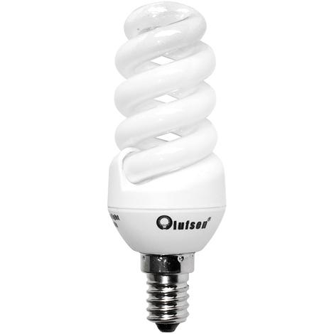 Pack de 3 bombillas espiral Olufsen bajo consumo 11 w