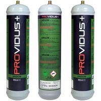 Pack de 3 bouteille argon 110 bars jetable - contenance 950ml- bouteille de gaz pour soudage semi automatique