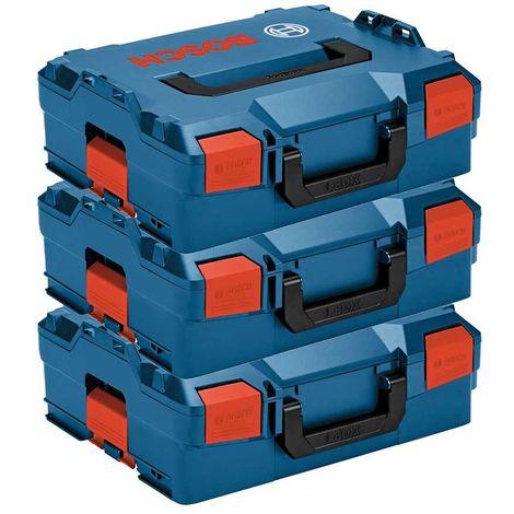 Pack de 3 Maletines apilables BOSCH L-Boxx 136