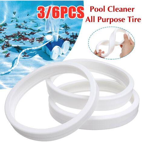 Pack de 3 pneus tout usage C10 C-10 pour piscine Zodiac Polaris 180280360380 3 pièces