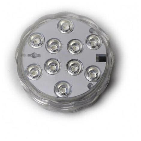 Pack de 3 sumergible ip68 focos LED 16 colores mando a distancia