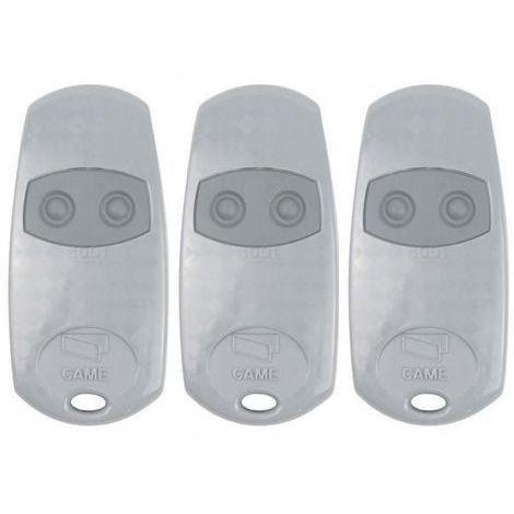 Pack de 3 télécommandes 2 boutons TOP432EE CAME
