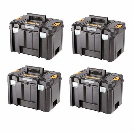 Pack de 4 Coffrets DeWALT TSTAK VI
