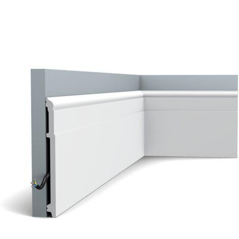 Pack de 4m SX156 Plinthe Orac Decor - 20x1,6x200cm (h x p x L) - plinthe décorative polymère - Conditionnement : Pack 2 pièces