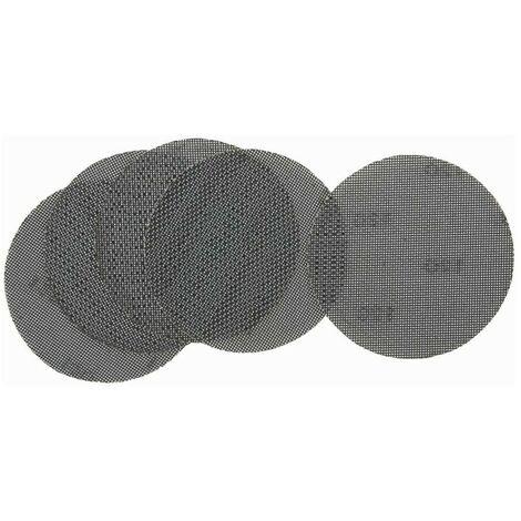 Pack de 5 discos de lija de malla 150mm para usar con lijadoras orbitales y rotorbitales - DEWALT