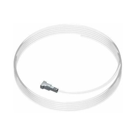 Pack de 5 fils perlon Twister 500 cm pour cimaise - longueur : 500 cm - conditionnement : pack de 5