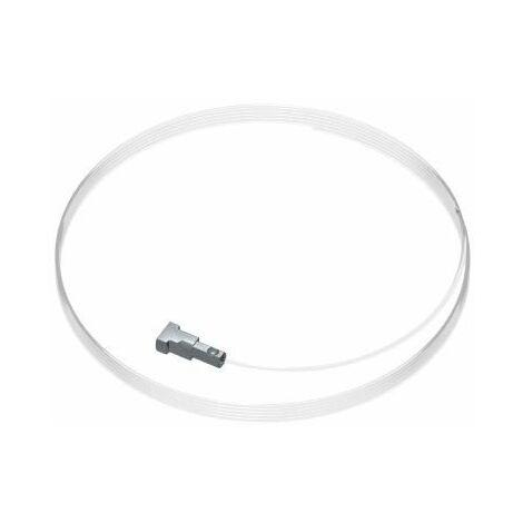 Pack de 5 fils twister perlon Micro pour cimaise contour rail