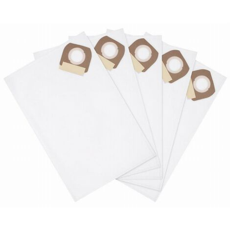 Pack de 5 sacs tissus pour aspirateur DEWALT - DCV9402-XJ