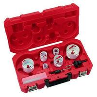 Pack de 6 scies cloche Hole Dozer Milwaukee 25 mm - 76 mm 49224201