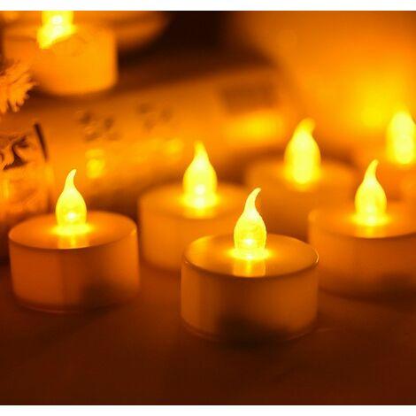 Pack de 6 velas decorativas 38x40mm