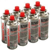 Pack de 8 cartouches gaz Camper Gaz 227gr butane - bouteille de gaz UN 2037