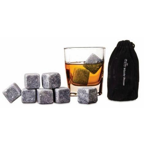 Pack de 9 piedras termicas Whisky stones para las bebidas