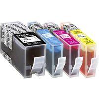 Pack de cartouches dimprimante compatible noir, cyan, magenta, jaune Basetech BTH147 1743,0050-126 remplace HP 934, 934XL, 935, 935XL 1 set